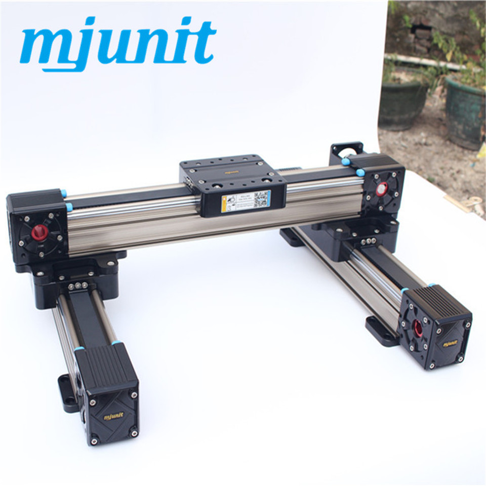 Belt driven linear slide linear guide rail Servo Drive indoor mobile stage movable stage linear stage belt driven linear slide rail belt drive guideway professional manufacturer of actuator system axis positioning