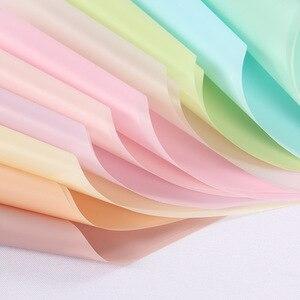 20 шт, половинная прозрачная водостойкая оберточная бумага для цветов, матовая упаковка букетов для цветов, принадлежности для магазинов, ма...