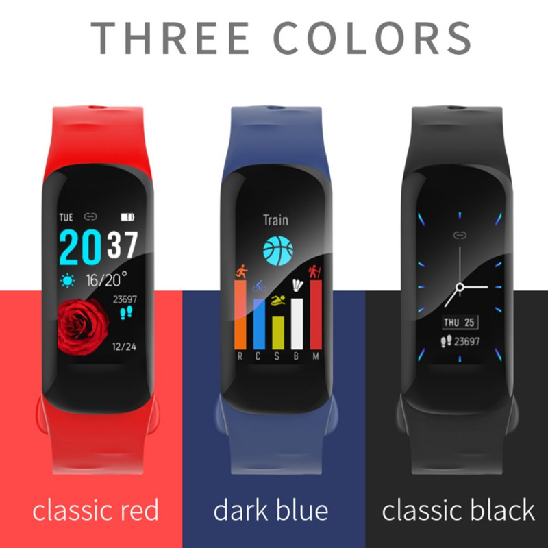 H29 Smart Band Waterproof IP67 Smart Watch Heart Rate Wristband Sport Running Smart Bracelet PK Mi Band 2