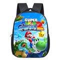 Рюкзак с мультяшным принтом Mario/Sonic  детские школьные сумки  рюкзак для малышей  сумка для детского сада  детская книга  лучший подарок  2019