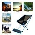 Ultra Licht Klapp Angeln Stuhl Sitz für Outdoor Camping Freizeit Picknick Stuhl Tragbare Faltbare Mond Stuhl Angeln Camping