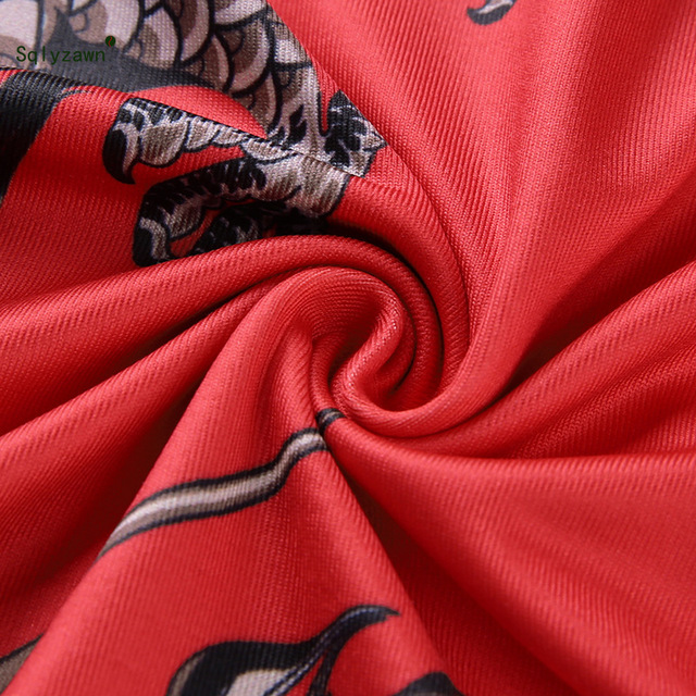 Summer sexy animal pattern red bodycon dresses women Dragon printed slah neck Spaghetti Strap mini dress 2019 streetwear clothes