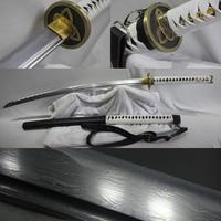 Walking Dead Sword Michonne's Zombie Killer Fold steel Japanese samurai katana sword