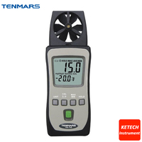 Pocket Size HandHeld Anemometer Wind Meter Tester TM 740
