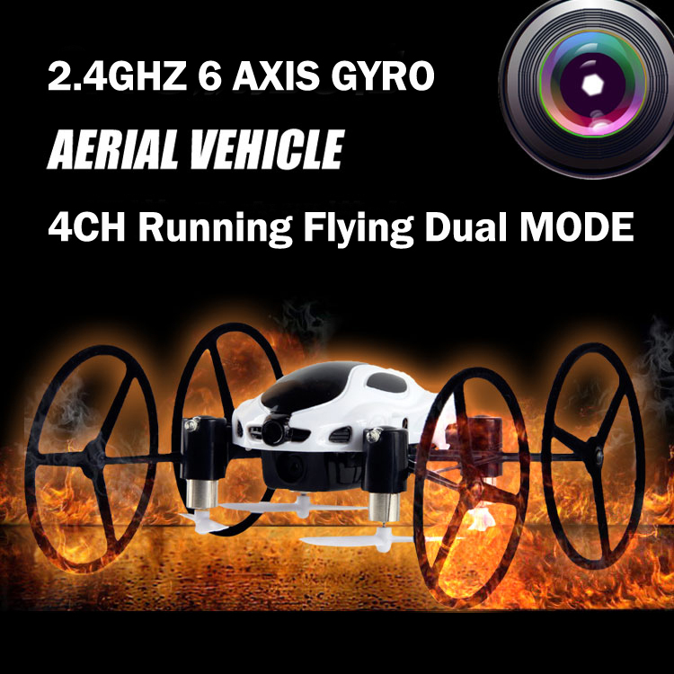 Multi-function RC Car Drone 318B Quadcopter 4CH 2.4G 6 AXIS GYRO RC Remote Control Flying Running drone with HD Camera 30pcs lot dac0808 dac0808lcn dip16 new