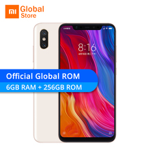 Xiaomi Mi8 Mi 8 6GB RAM 256GB ROM Snapdragon 845 Octa Core 6.21″ 2248×1080 12MP Dual Rear Camera NFC Infrared Smartphone