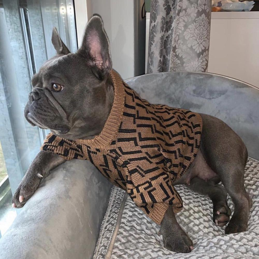 Fashion Dog Clothes Pet Puppy Sweater Hoodie French Bulldog Pug Teddy Jacket Coat For Dogs Cat In Winter Keeping Warm GKC03
