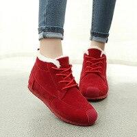 Women Shoes Women Sport Sneaker Shoes Korean Version Lace Shoes Snow Boots Thickening Waterproof Women S