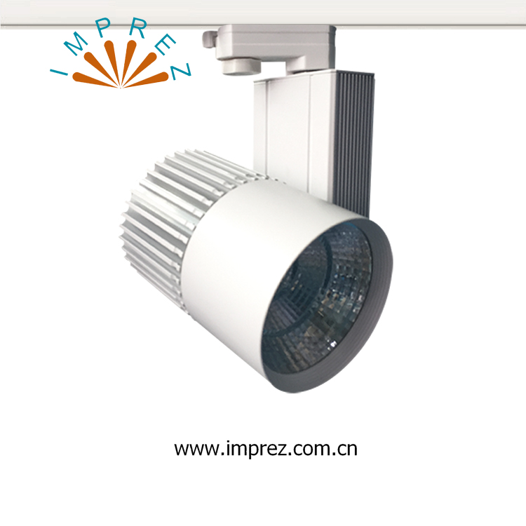 Dimmable 50W COB Led Track Light 4 Wire Version Modern