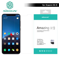 Nillkin for Xiaomi Mi 8 Glass Amazing 9H / H+ Pro Xiaomi M8 Tempered Glass Screen Protector 0.2mm For Xiaomi Mi8 Nilkin Glass|Phone Screen Protectors|   -