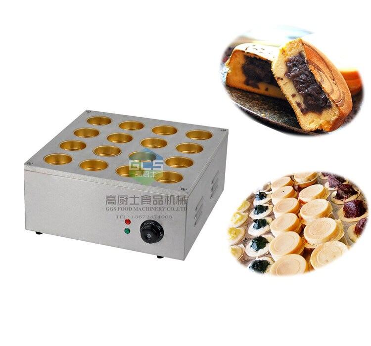 Livraison gratuite Électrique 16 trous rouge machine de haricot (plaque De Cuivre) Paris-brest gâteau