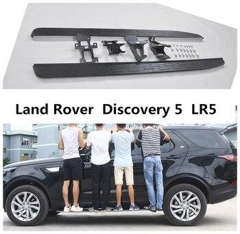 Đối với Land Rover Discovery 5 LR5 2017 2018 Chạy Ban Thanh Bước Bên Bàn Đạp Chất Lượng Cao Xe Thanh Nerf Sửa Đổi phụ kiện cho