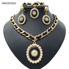 YULAILI Free Shipping Top Design Factory Hot Sell 2017 Alloy Three Jewelry Sets For Girls
