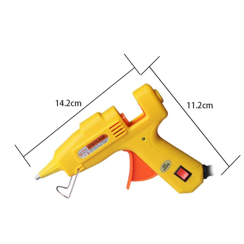 12V 10W Pistola de pegamento de fusión en caliente Adaptador de CA a - Herramientas eléctricas - foto 5