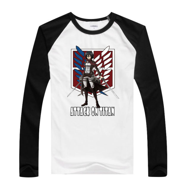 Attack On Titan Long Sleeve T-Shirt (15 Design)
