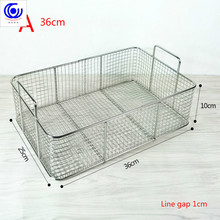 6 options Stainless steel fryer screen French fries frame square filter net encrypt colander shaped Frying basket fryers meshed