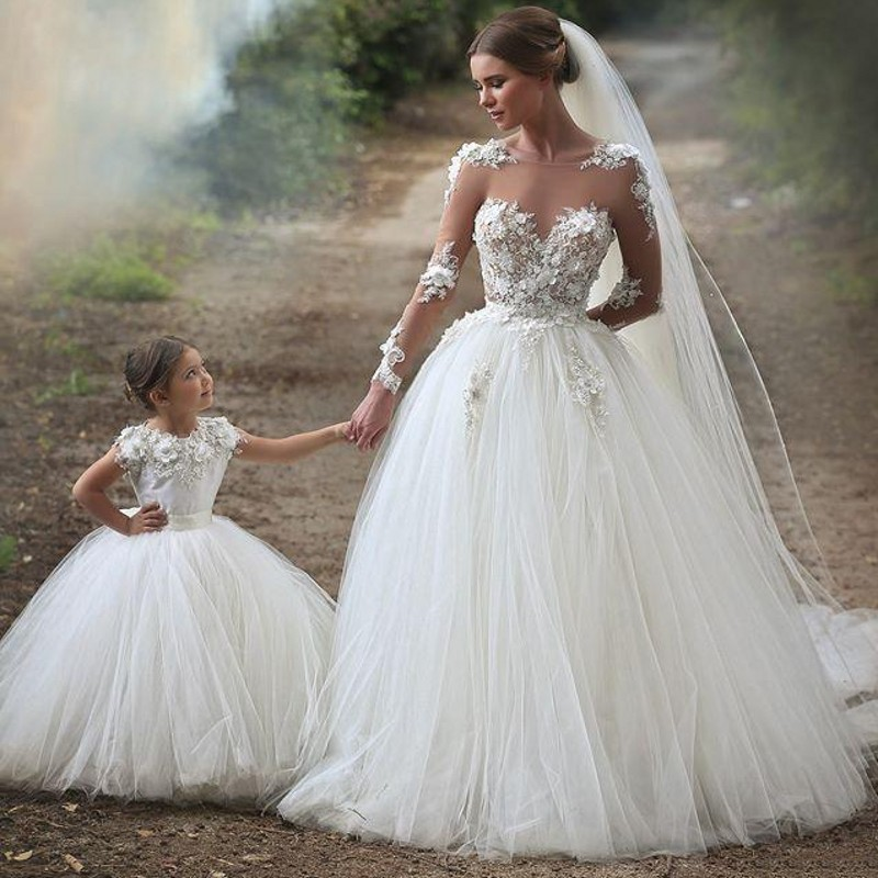 Fall Wedding Gown: Popular Long Sleeve Wedding Gown-Buy Cheap Long Sleeve