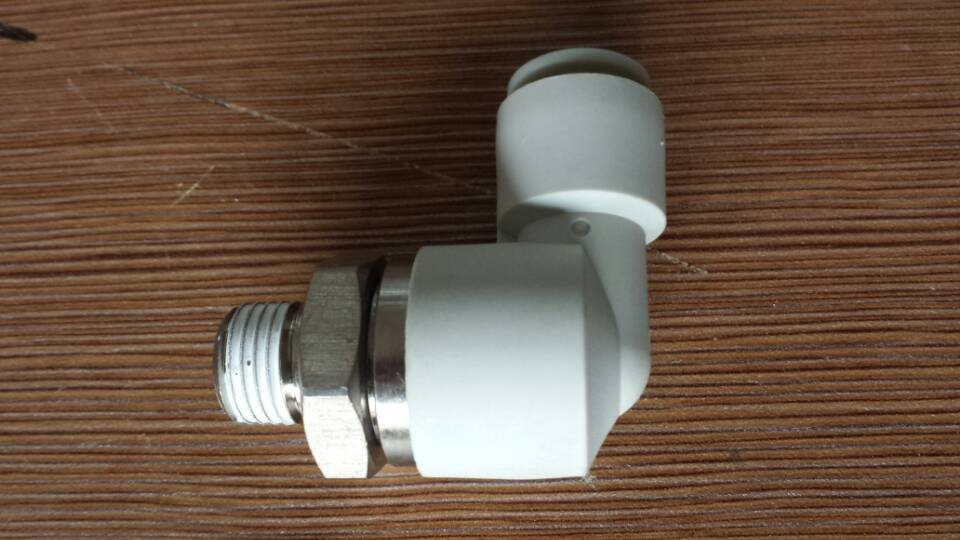 JAPAN Rotary On-touch Fittings KXL08-02S (high speed ) 8mm R1/4 12 to 8mm one touch push in straight union fittings