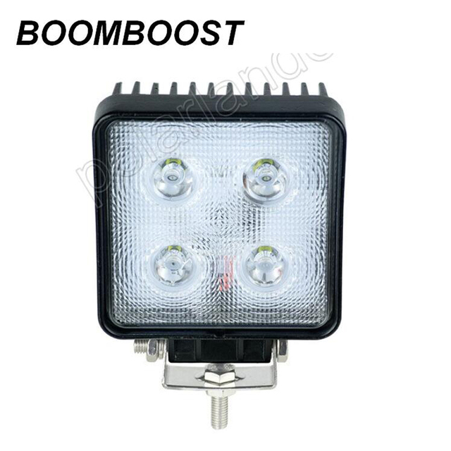 BOOMBOOST 2x40 W 4.5 inch LED verlichting off road 4X4 Trekker boot ...