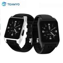 Teamyo X86 Новый WI-FI Smart Band Фитнес браслет крови Часы Давление Поддержка sim-карты 3 г Android IOS SmartWatch С камера