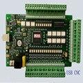 Cartão de Movimento De 4 Eixos Mach3 USB CNC Stepper Motor Controlador 0-10 V Adaptador de Interface de Bordo de Fuga para e-Máquina de corte de Fresagem CNC