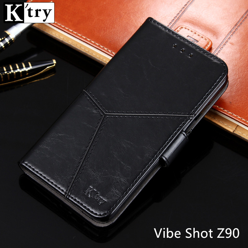 Lenovo Vibe Shot Case Lenovo Vibe Shot Z90 Cover Luxury Flip Leather Case original K'try mobile phone accessories capa Z90-7