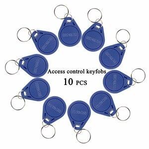 10 шт. RFID брелоки 125 кГц, проксимити-идентификатор, Токен-бирка, брелки для ключей для контроля доступа к двери