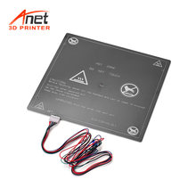 Anet 1PCS 12V 3D Printer Hot Bed Heating Platform Heatbed Aluminum 300*300*3mm with Hot-bed Wire Cord for Anet E12 3D Printer(China)
