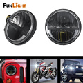 Free shipping 7 Inch 36W Round Led Headlight for Jeep Wrangler Cj Jk Tj Motorcycle Offroad Vehicles