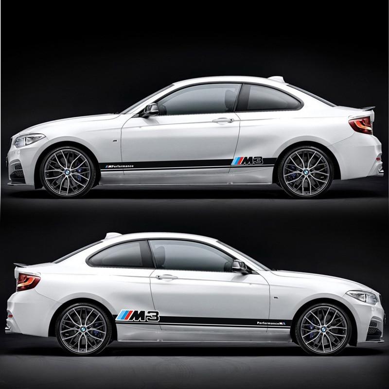 TAIYAO car styling sport autocollant de voiture Pour BMW M1 M2 M3 M4 voiture accessoires de voiture autocollants et décalcomanies auto autocollant