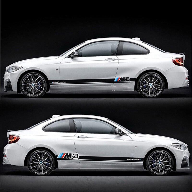 TAIYAO voiture style sport voiture autocollant pour BMW M1 M2 M3 M4 voiture accessoires voiture autocollants et décalcomanies auto autocollant