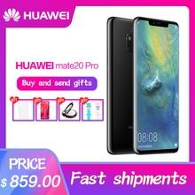 HUAWEI Коврики 20 Pro мобильный телефон полный Экран Водонепроницаемый IP68 40MP 4 камеры Kirin980 быстрое зарядное устройство 10 V/4A Восьмиядерный FACE ID