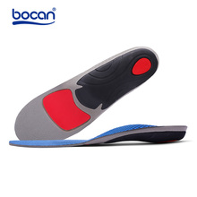 Bocan Orthopedic insoles for flat foot arch support shock absorption for 2 sizes shoe insole for 6009