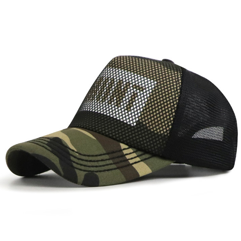 [NORTHWOOD] 2019 High Quality Men's Summer   Cap   Camouflage Mesh   Baseball     Cap   Women Casquette Snapback Breathable Sun Dad Hat
