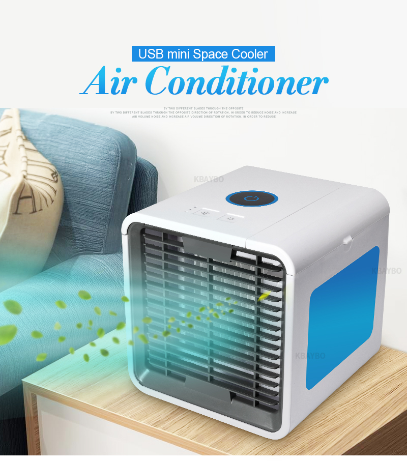 Portable Mini Air Conditioner Fan Personal Space Cooler The Quick Easy Way to Cool Any Space Home Office Desk цена 2017