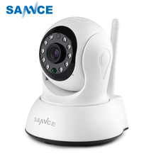 SANNCE Wireless HD 720P IP Camera 1MP CCTV Security Camera Indoor Baby Monitor with two way Audio support up to 64GB TF Card