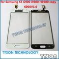 Кодовый Номер 6000V1. 0 Сенсорный Экран для Samsung Galaxy S5 G900 Копия Клон Сенсорная Панель Экрана Бесплатная Доставка