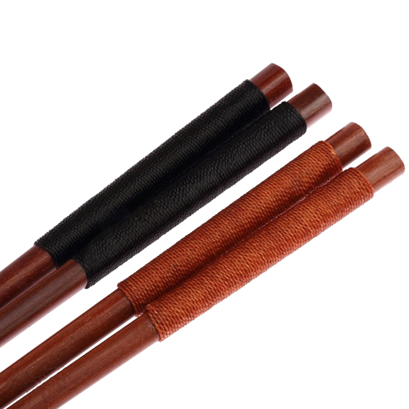 2 Pairs Reusable Wood Chopsticks Korea Japanese Sushi Chopsticks Wood Chinese Sticks for Food Tableware Wooden Kitchen Utensils (5)