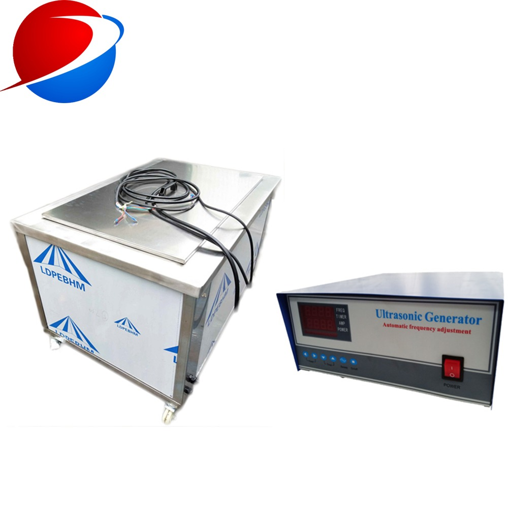 Hot Plate 40khz Ultrasonic Cleaning Device For Heat Exchanger Tubes cleaning equipment washer machine