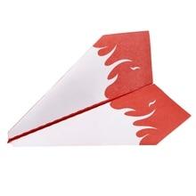 Children Love Interesting 1 Set Electric Motor Paper Airplane Model DIY Power Up Flying Plane Kids Toys