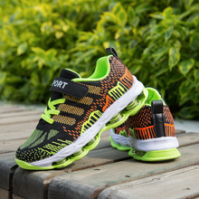 New Cool Boy Running Shoes Children Spring Fashion Kids Sneakers Damping Big Sport Brand School