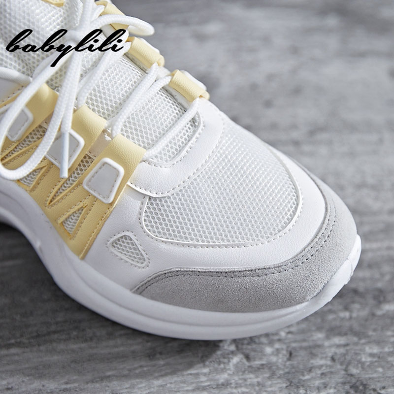 84999f3cf5a Sneakers Women Summer Vulcanize Female Fashion Sneakers Lace Soft ...