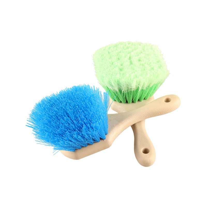 1 шт. короткая ручка колеса и щетка для шин специальный дизайн химически стойкие кисти синие жесткие волосы/зеленые мягкие волосы для авто чистки
