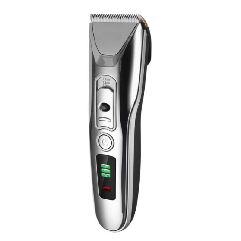 Tondeuse électrique, tondeuse à barbe coiffeur Machine de découpe de cheveux, USB Rechargeable, affichage de la capacité de la batterie, lame en céramique