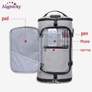 Image 2 - USB Charging Laptop Backpack Shoe Pocket 15.6 inch Anti Theft Women Men School Bags For Girls College Travel Backpacks Rucksack