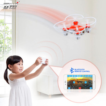 Mini RC Drone Remote Control With Bluetooth Drone Quadcopter 6 Axis Gyro RTF Dron Helicopter Gift For Kids X1