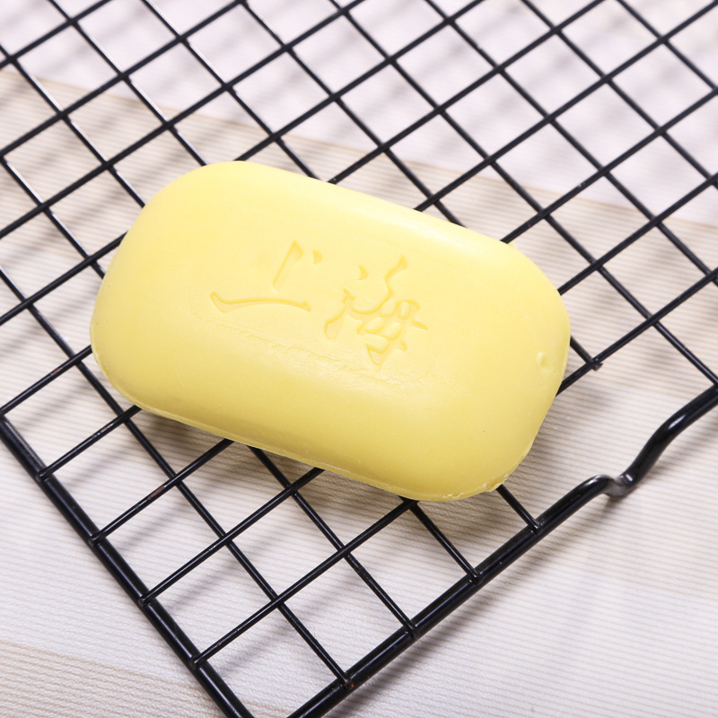 Oil-control Acne Treatment Blackhead Remover Soap Shanghai Sulfur Soap 85g Whitening Cleanser Chinese Traditional Skin Care
