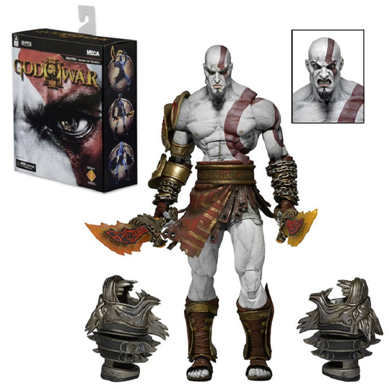 GZTZMY NECA God of War 3 Ghost of Sparta Kratos PVC Action Figure Collectible Model Toy Christmas For Kids Gifts (7)