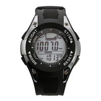 SUNROAD Men's Sports Digital Watch Barometer Altimeter Thermometer Weather Forecast Luxury Backlight Waterproof Watches