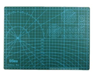 Резки коврики A3 пэчворк 45 * 30 * 0.3 см пвх 3-layer прочный передний коврик высокая самооценка - исцеление двусторонняя коврик для резки